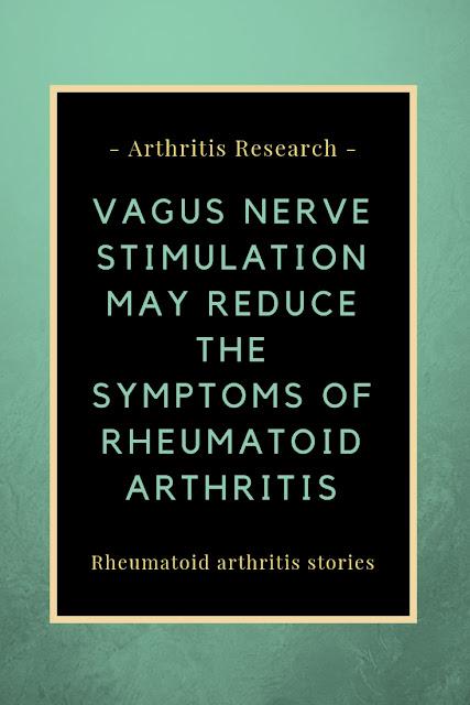 Vagus nerve stimulation and rheumatoid arthritis
