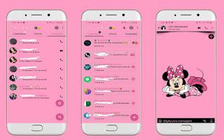Cute Minnie 5 Theme For YOWhatsApp & Fouad WhatsApp By Leidiane