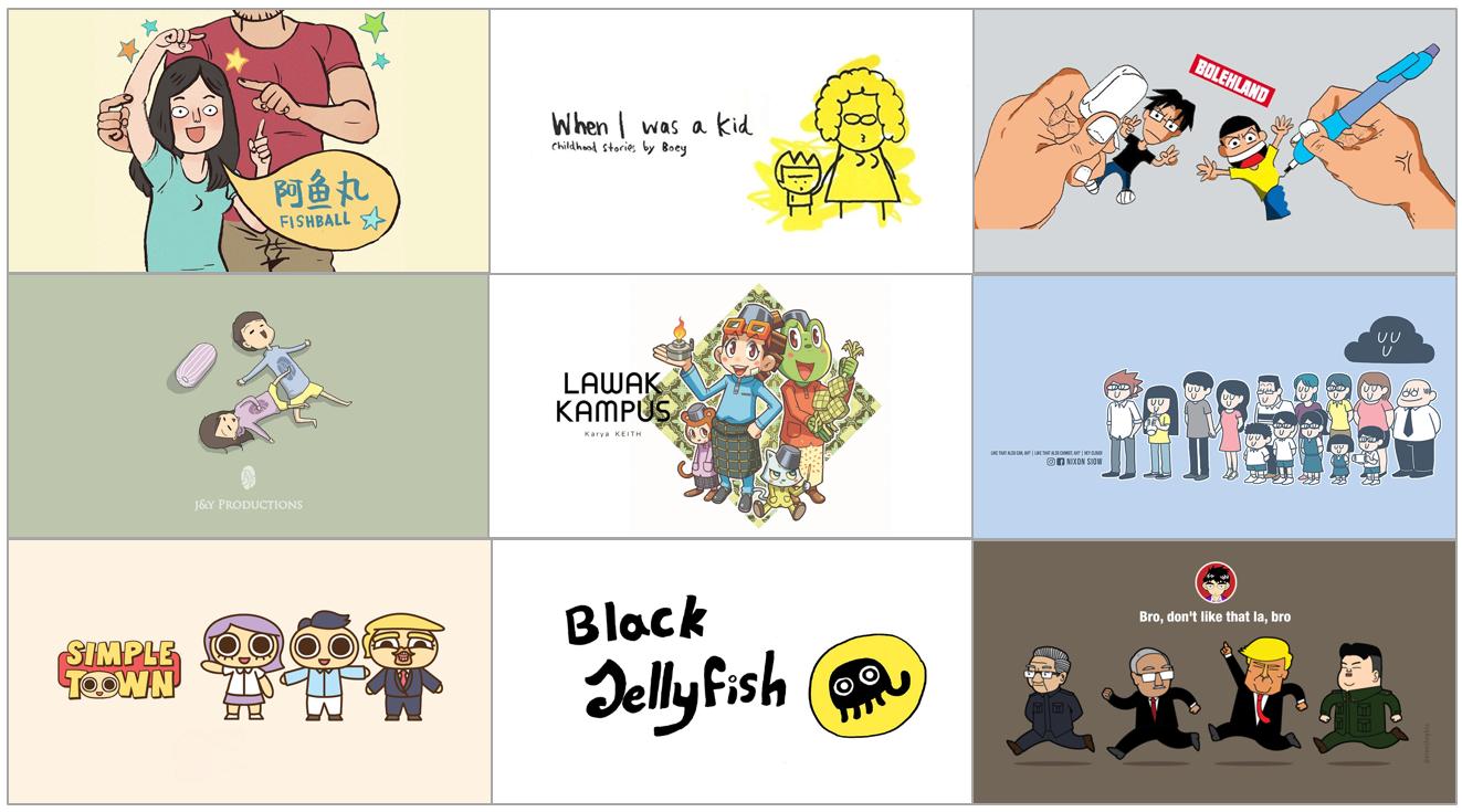Popular comic artists in Malaysia