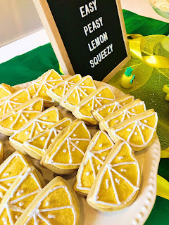 Lemon shaped sugar cookies @michellepaigeblogs. com