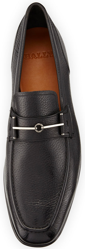 Bally Brignant Leather Horsebit Loafer