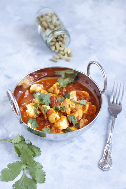 Curry pieczarkowe