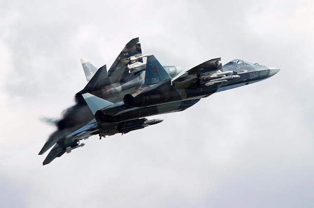 Stealth Sukhoi T-50 Moscow