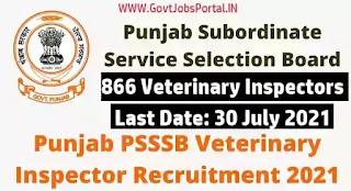 Veterinary Inspector jobs in Punjab