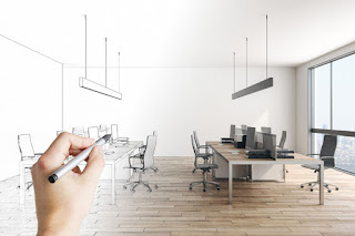 Office Cubicles Left Out New Design Offices
