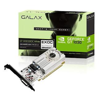 GALAX GeForce GT 1030 2GB GDDR5 64-bit Graphics Card