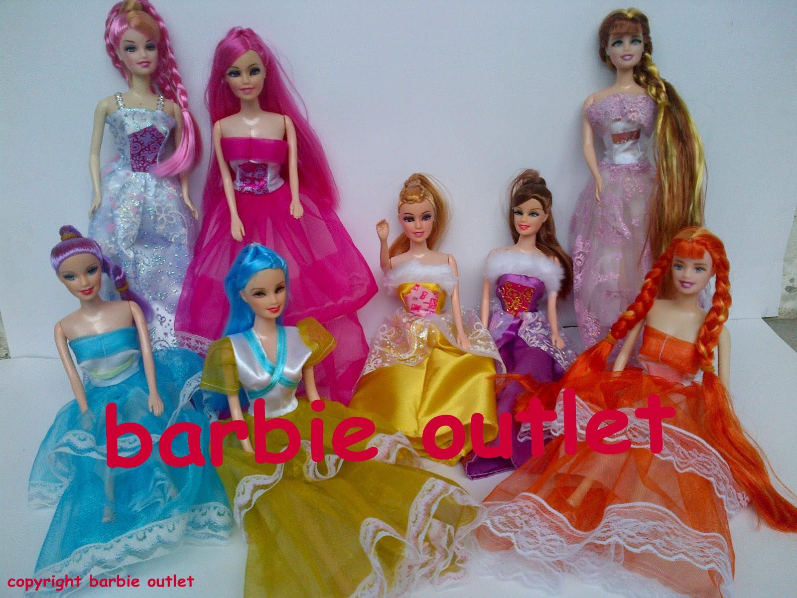 barbie outlets Baju Pesta Boneka Barbie
