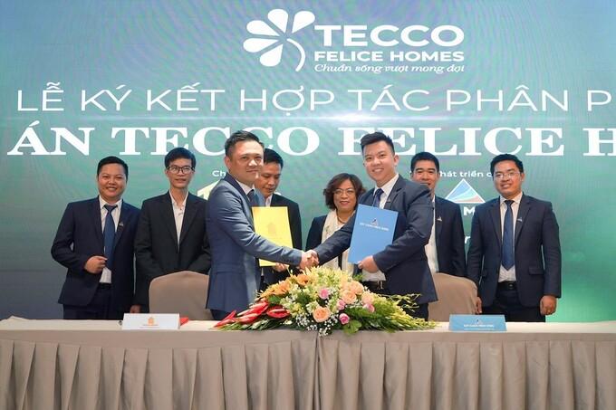Đất xanh Miền Đông bắt tay hợp tác Tecco Group