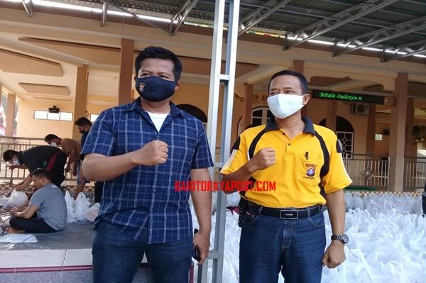 Polres Barito Timur bagikan 500 paket hewan kurban bagi warga tidak mampu