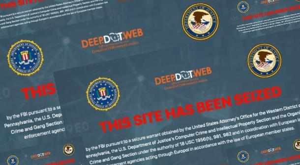 एफबीआई ने डीप डॉट वेब को जब्त कर लिया, संदिग्ध लोग गिरफ्तार