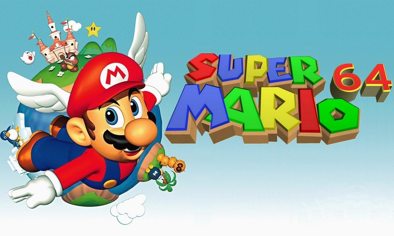 Resultado de imagem para Super Mario 64