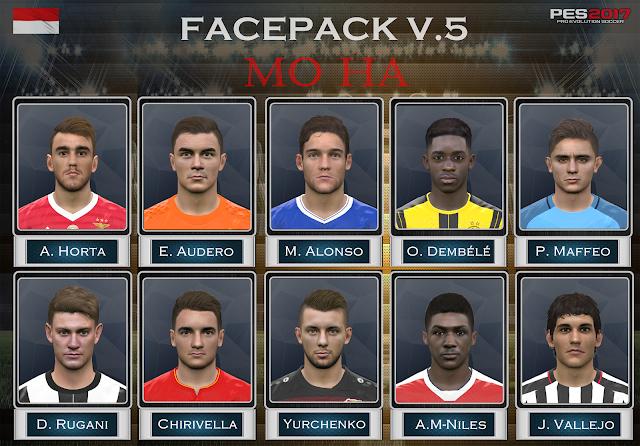 PES 2017 Facepack v.5