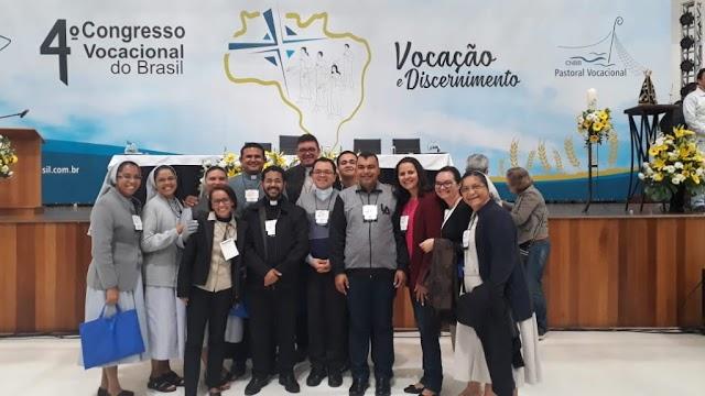 Diocese de Campo Maior é representada no 4° Congresso Vocacional do Brasil, em Aparecida