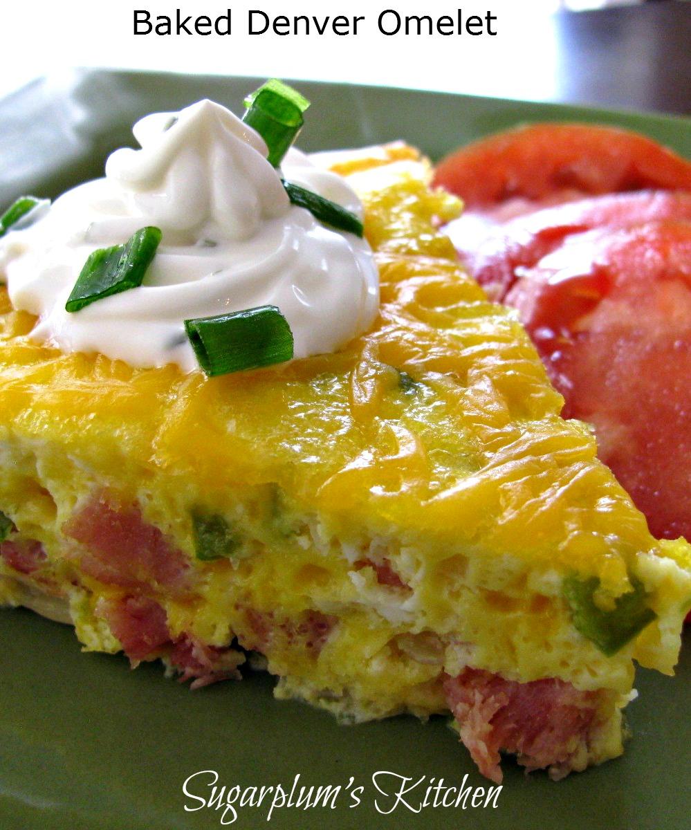 Sugarplum's Kitchen: Baked Denver Omelet