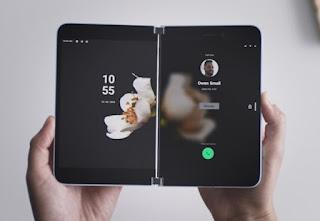 كشفت شركة Microsoft عن جهاز Surface Duo القابل للطي على نظام Android