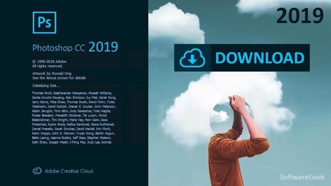 Adobe Photoshop CC 2019 Free Download Latest Version