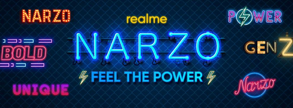 Realme Narzo Vector Logo PNG