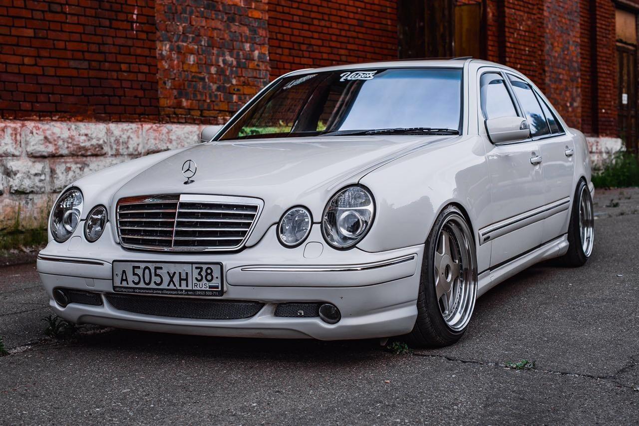 Mercedes benz w210 e50 amg on mae wheels benztuning for Mercedes benz rim