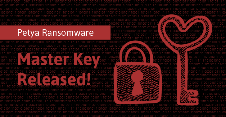 Private Decryption Key For Original Petya Ransomware Released