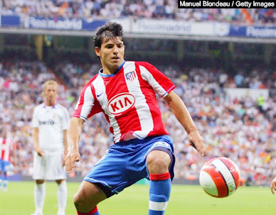 عدد اهداف اجويرو مع اتلتيكو مدريد