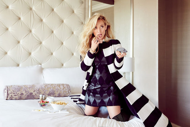 Hilary Duff stars for Glamour Mexico November 2015