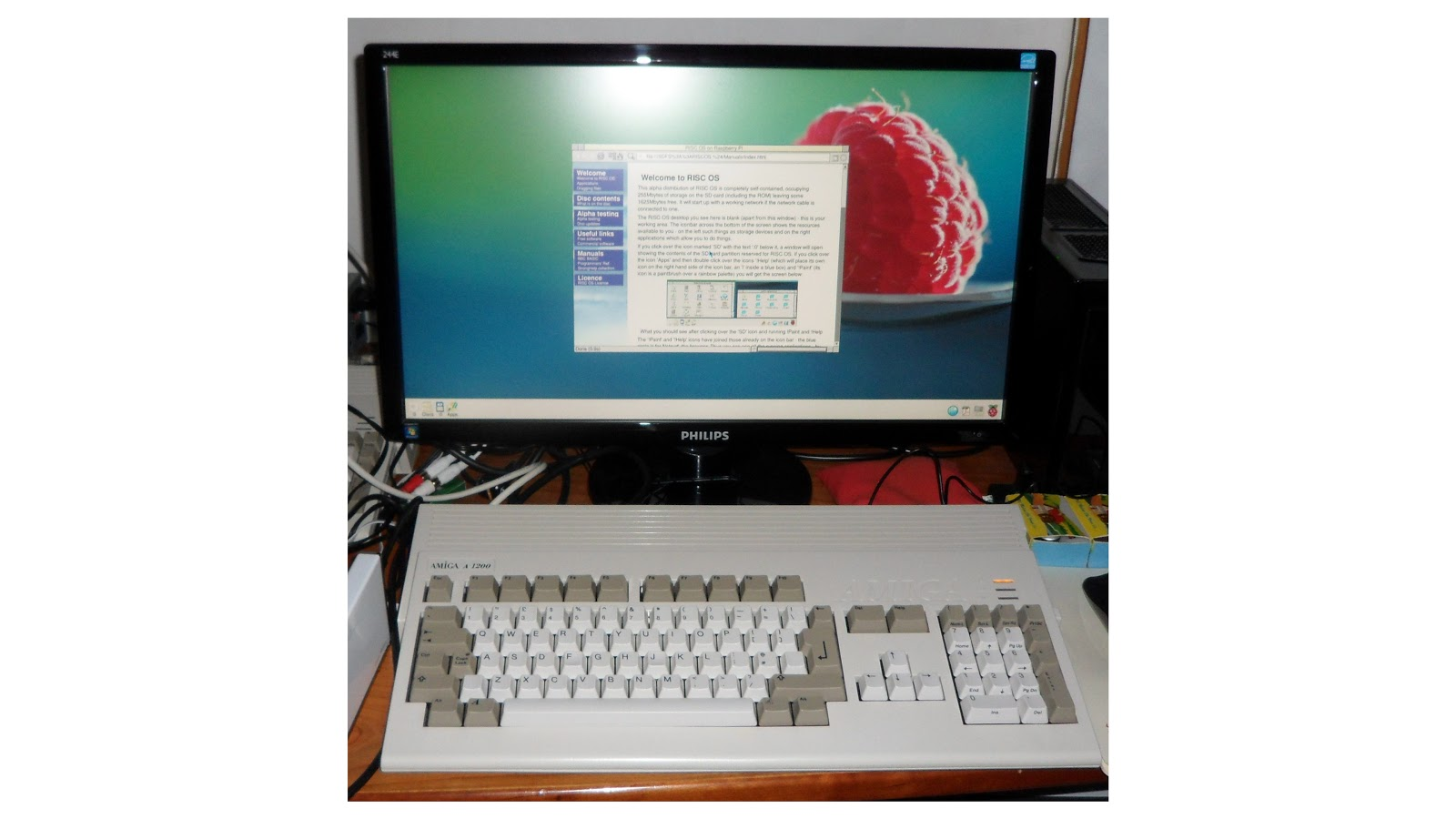 Amiga 1200 Raspberry Pi - Raspberry Pi Forums