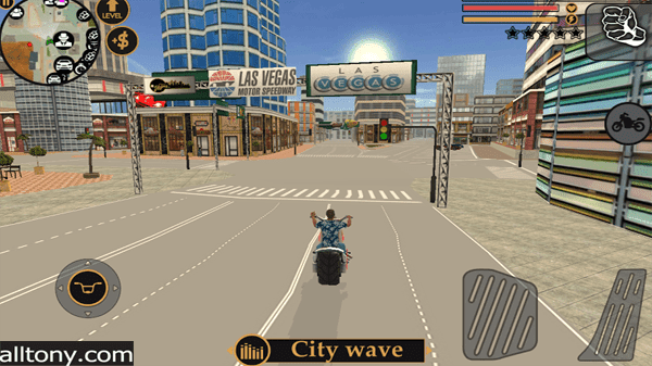 تحميل لعبة Vegas Crime Simulator للأيفون والأندرويد APK