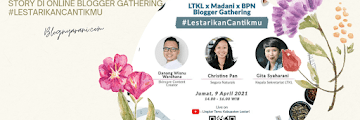 Asiknya Pembahasan Tentang Sustainable Beauty and Wellnes Story di Online Blogger Gathering #LestarikanCantikmu