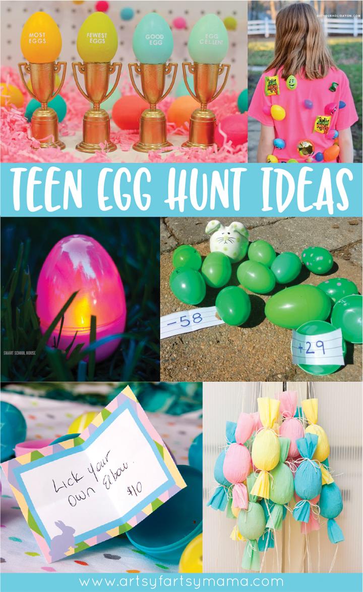 Creative Teen Easter Egg Hunt Ideas