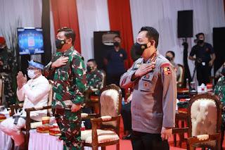 Kapolri dan Panglima TNI Luncurkan Layanan Darurat