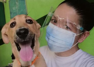 Our Happy Pet Visits The Vet