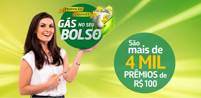 Promoção Liquigás Gás No Seu Bolso