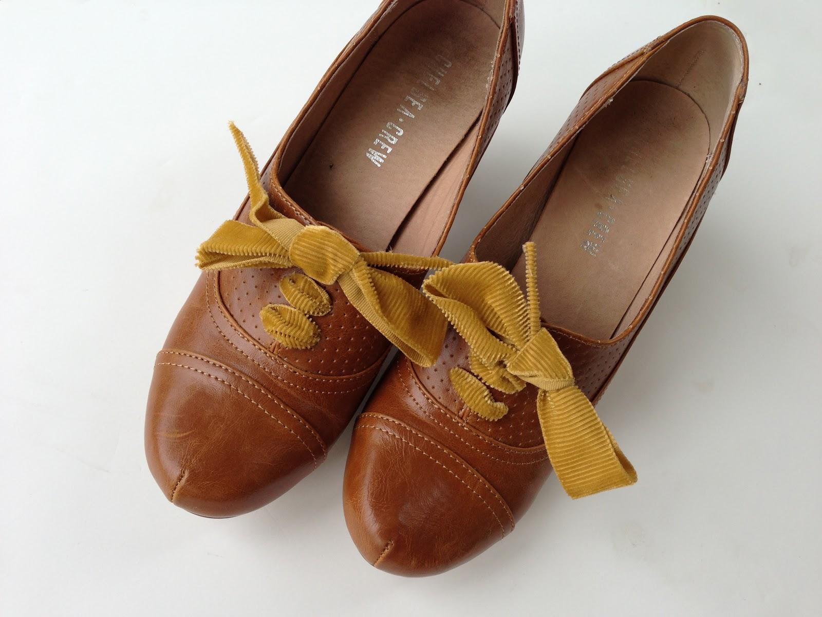 Vintage Shoe Laces