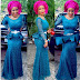 Stylish Lace Gown Styles You've Not Seen Before; Latest Aso Ebi Styles