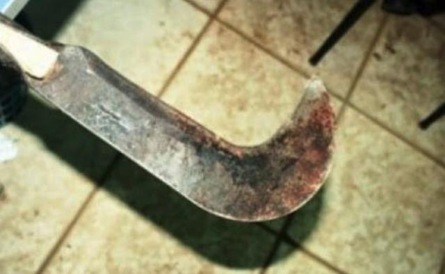 Laranjal: Homem é morto com golpes de foice enquanto dormia