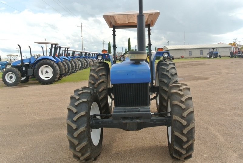 New Holland 75hp 4x4 Tractors : Maquinaria agricola industrial tractor new holland