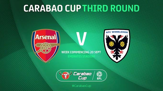 مشاهدة مباراة ارسنال وويمبلدون بث مباشر اليوم 22/09/2021 كأس الرابطة الإنجليزية