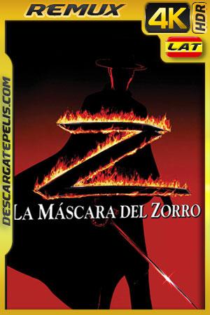 La mascara del Zorro (1998) 4k BDRemux HDR Latino – Ingles