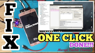 MERAPI FLASHER \\ TUTORIAL REPAIR SMARTPHONE PALING MUDAH