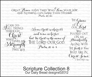Our Daily Bread Designs, Scripture Collection 8