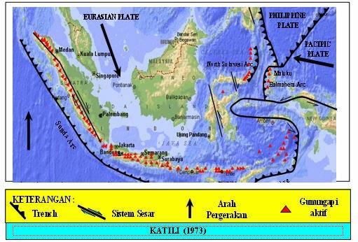 Gambar   Peta Geologis Indonesia
