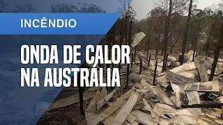 Evacuação de cidades na Austrália por conta da onda de calor