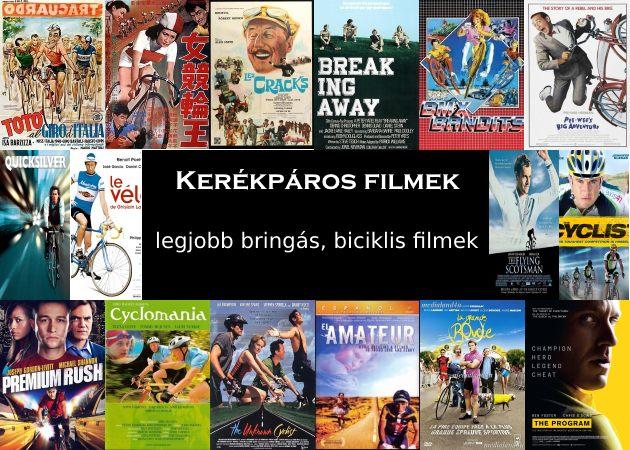 Kerékpáros filmek, legjobb bringás, biciklis filmek