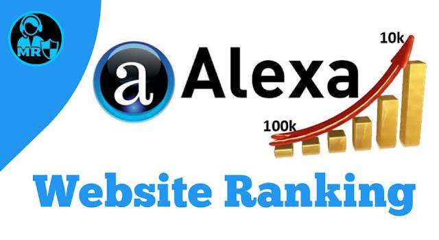 how does work alexa website rankings ?