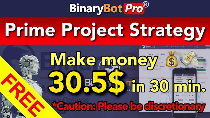 Prime Project Strategy | Binary Bot Pro