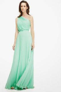 vestido verde invitada boda