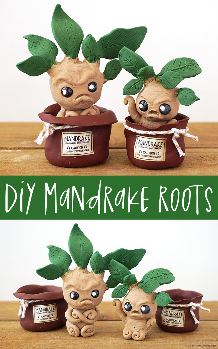 DIY Harry Potter Mandrake Roots