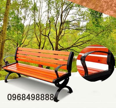 Ghế băng công viên bằng gỗ giá rẻ nhất Hà Nội