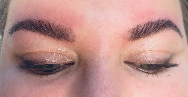 SweetieSal Laminated Brows Post Treatment