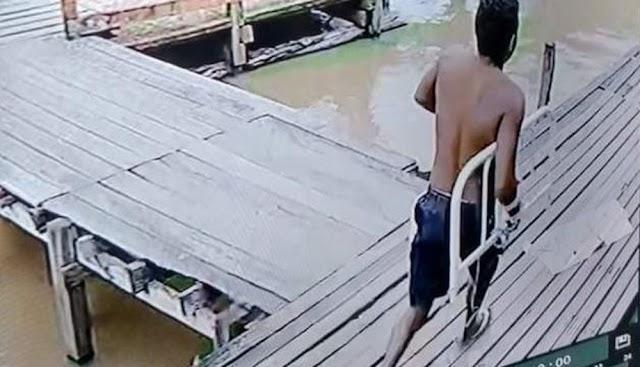 Preso por estupro foge de hospital carregando parte da cama em que estava algemado no Marajó